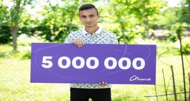 Azercell ailəsi artıq 5 milyon döyünən ürək deməkdir! (FOTO/VİDEO)