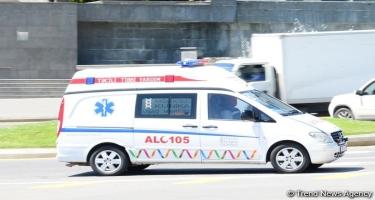 Bakıda avtobusun vurduğu piyada hadisə yerində öldü