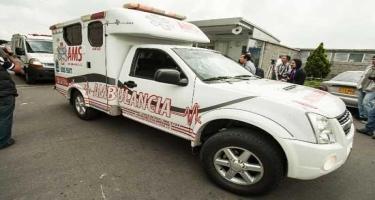 Kolumbiyada baş verən partlayış nəticəsində iki nəfər yaralanıb