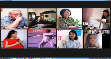 Dillər Universitetində Çin dili üzrə seminar