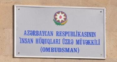 Ombudsman Uşaqların Beynəlxalq Müdafiəsi Günü ilə əlaqədar bəyanat yayıb