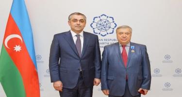 """Adil Qəribova və Arif Məmmədova """"Şöhrət"""" ordeni təqdim edilib (FOTO)"""