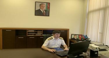 Dəniz səfirlərinin video konfransı keçirilib (FOTO)
