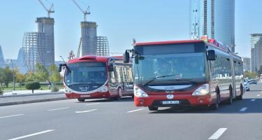 Bakıda marşrut avtobuslarında kondisionerlər işə salındı