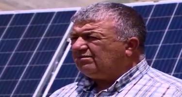 Siyəzəndə alternativ enerji istehsalı - Fermer günəş və küləkdən enerji əldə edir (VİDEO)