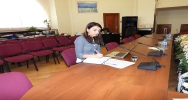 Ombudsmanın nümayəndəsi məcburi köçkünlərin hüquqlarının müdafiəsinə həsr edilmiş beynəlxalq vebinarda iştirak edib (FOTO)