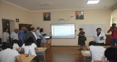 Bakı Slavyan Universitetində imtahan sessiyası ilə bağlı mediatur keçirilib (FOTO)