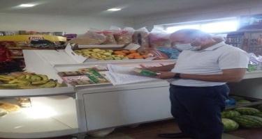Daha 154 ictimai iaşə və ərzaq satışı müəssisəsində reyd keçirib (FOTO)