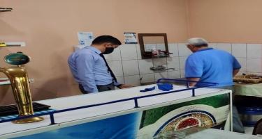 AQTA COVİD-19-la əlaqədar qayda pozuntuları aşkarladığı müəssisələrin sayını açıqladı (FOTO)