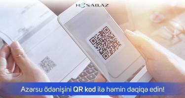 Hesab.az QR kod ilə ödənişin tətbiqini genişləndirir
