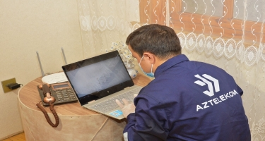 """""""Aztelekom"""" 700 mininci evi telekommunikasiya xidmətləri ilə təmin etdi (FOTO)"""