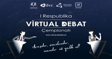 """Gənclər arasında """"I Respublika Virtual Debat Çempionatı"""" keçiriləcək"""
