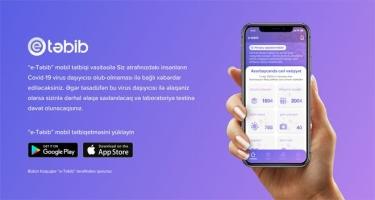 """Azercell """"e-Təbib"""" mobil tətbiqini yükləyən hər kəsə 100MB hədiyyə təqdim edir"""