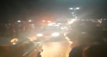 Tovuz sakinləri şəhidi alqışlarla qarşılayıb (VİDEO)