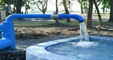 Şabranda kəndin su təchizatının yaxşılaşdırılması məqsədilə yeni layihənin icrasına başlanıb (FOTO)