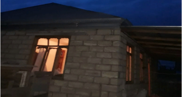 Ermənistan yenidən Dondar Quşçu kəndində yaşayış evlərini atəşə tutub (ƏLAVƏ OLUNUB) (FOTO)