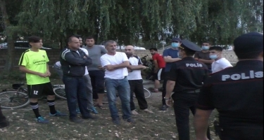 Qubada karantin rejimini pozub futbol oynayanlar cərimələndi (FOTO)